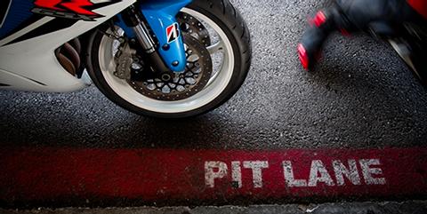 Rodar con neumáticos de moto nuevos